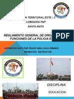 Reglamento de La Policia Escolar 2015