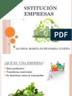 Constitución de Empresas