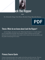 jack the ripper powerpoint