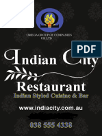 Indian City Springvale