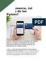 Comercio Electronico el futuro de las Pymes.docx