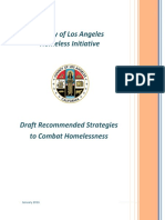 County of Los Angeles - Draft Recommend Strategies to Combat Homelessness