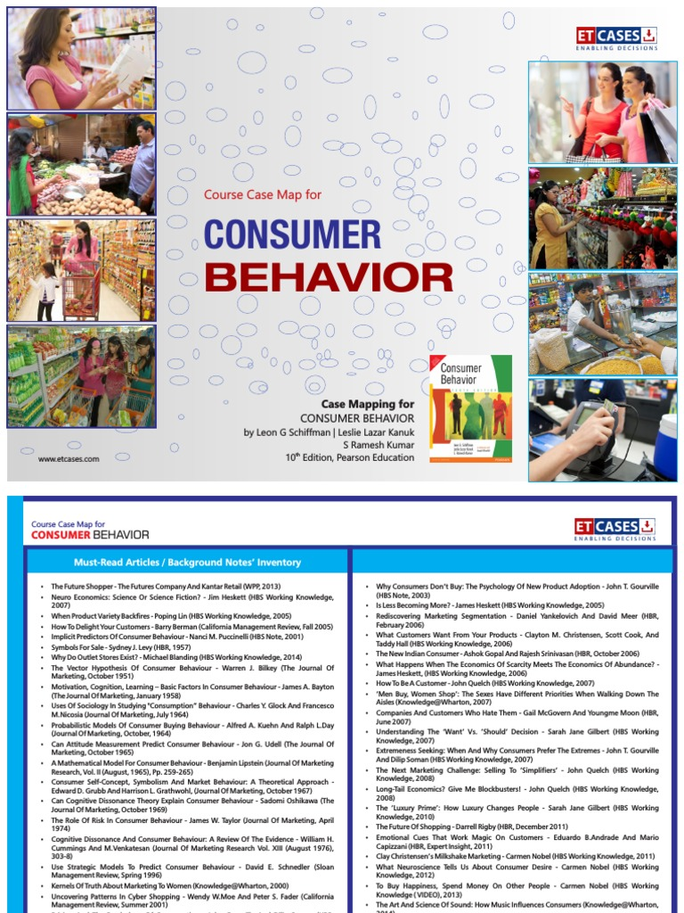 CONSUMER BEHAVIOR COURSE CASE MAP Consumer Behaviour Market - Changes in us employment international mapping pearson education inc