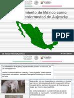 Reconocimiento de México Libre de EA 2015