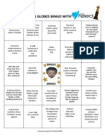 The Feed's Golden Globes bingo