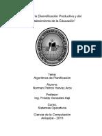 Informe Algoritmos de Planificacion