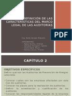 Las Características Del Marco Legal De