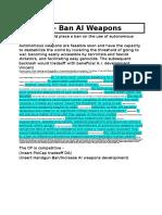CP - Ban Autonomous Weapons