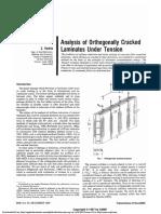 Analysis of Orthogonally Cracked