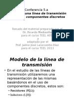 Modelo de una Línea de Tx