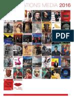 Artpassions Kit Media Français 2016