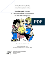 A Comprehensive Introduction to the Mari Language