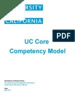 Uc Core Competency Model