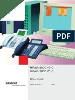 HiPath 3000 5000 V5.0 Service Manual