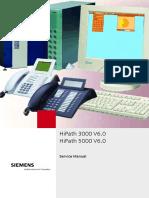HiPath 3000 5000 V6.0 Service Manual