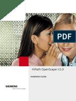 OpenScape V2.0 Installation Guide