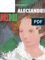 Alecsandri Vasile - Dridri (Cartea)