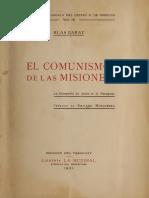 Blas Garay. El Comunismo de las Misiones en el Paraguay