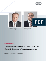 Speeches CES 2016