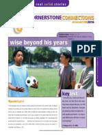 1st Quarter 2016 Lesson 2 Cornerstone Connections