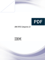IBM SPSS Categories
