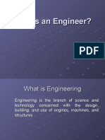 Who is an Engineer