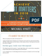 Best Year Ever - Achieve What Matters in 2016