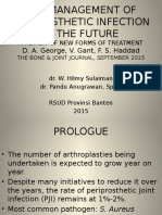 The Management of Periprosthetic Infection in the Future