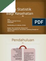 Peran Statistik Bagi Kesehatan