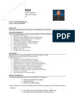 Easar CV