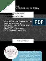 Laporan Kasus Sinusitis