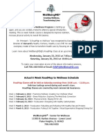 Road Map Flyer for Feb March 2013