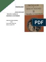 Geza Roheim - Psicoanalisis y Antropologia