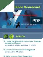 Suyanto, Balance Scorecard