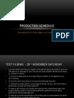 filming schedule.pptx