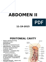 Abdomen II 11-19-2015 Student