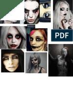 Devourer Make-up Mood Board