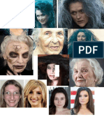 Beauty Make-up Moodboard