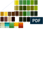 Nymph Colour Chart