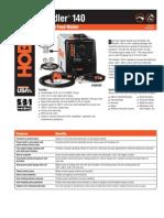 Spec Sheet - Handler 140