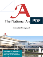 Combining Different Resources for Education by Andrew Payne (The UK National Archives)