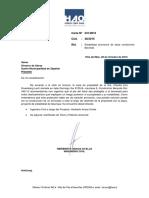 Carta 531-2015- Carta Patrocinio de Proyecto Estabilidad de Talud Condominio Beranda Cachagua