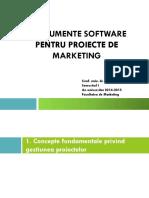 Instrumente Software Pentru Proiecte de Marketing
