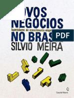Novos Negocios Inovadores de Cr - Silvio Meira