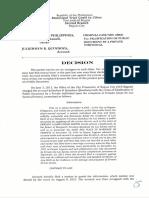 CC No. 130612 Decisions