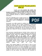 Din 2016 Creste Povara Fiscala Pentru PFA