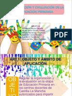 Organización y Evaluación de Le EP