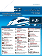 4th Annual Middle East Rail Opportunities 2013 Saudi