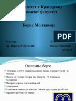 Prezentacija- Berza Moldavije