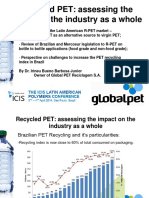 4- R PET Irineu GlobalPET ICIS LATAM 2013_2 PET Recycling in Brazil and Latam